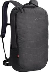 "Zwarte Vaude Recycled PETimir II Rugzak 15.6"" black backpack"