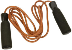 Bruine Urban fitness UFE Leather Jump Rope - Lederen springtouw