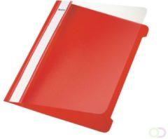 Rode Huismerk Leitz Kunststof Offertemap - A5 - 25 stuks - Rood