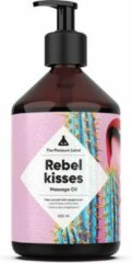 The Pleasure Label - Massageolie - Rebel Kisses - Inhoud: 500ml