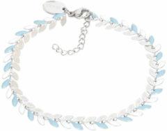 IXXXi Armband Malediven Blauw - Zilver