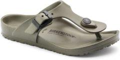 Kaki Birkenstock Gizeh EVA Kinderslippers Small fit - Khaki - Maat 31