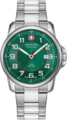 Zilveren Swiss Military Hanowa - Swiss Made - herenhorloge Swiss Grenadier 06-5330.04.006