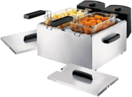 Zilveren Princess 183123 Double Fryer Friteuse