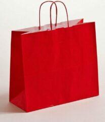 ArtiPack Papieren tas   32+13x28 cm   Rood   Gedraaide greep   50 stuks