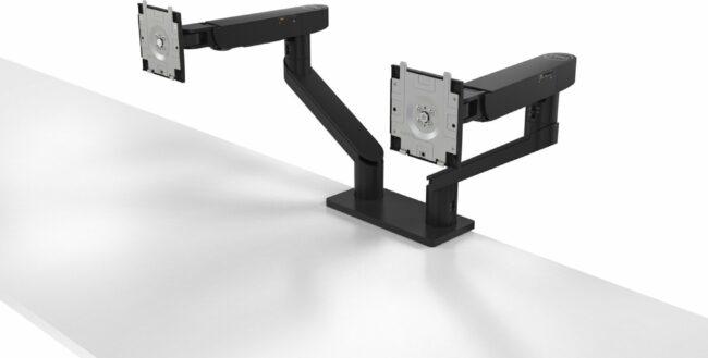 Afbeelding van Zwarte Dell Dual Monitor Arm - MDA20