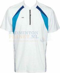 RSL T-shirt Badminton Tennis Wit Maat XXL