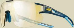 Julbo Aerospeed Zebra Light Sonnenbrille/Sportbrille Größe one size blau durchscheinend/blau/gelb