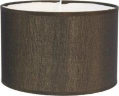 Lampenkap | Ø 46*28 cm | Goudkleurig | Textiel op kunststof | Rond | Clayre & Eef | 6LAK0470GO