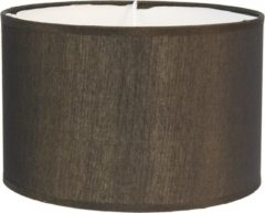 Clayre & Eef Lampenkap 6LAK0470GO Ø 46*28 cm - Goudkleurig Textiel Stoffen Lampenkap