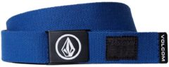 Blue Volcom Circle Web Belt