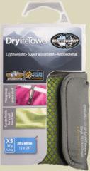 Sea to Summit Drylite Towel Mikrofaser Handtuch Größe XS Lime