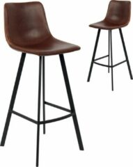 Rousseau Barstoel Ozan H 65cm - bruin