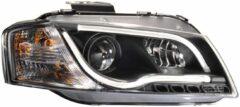 AutoStyle Set Koplampen incl. DRL 'Light-Bar' passend voor Audi A3 8P 2003-2008 - Zwart