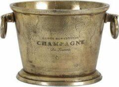 Light & Living Champagnekoeler CRISTAL 39x25x25 cm - antiek brons