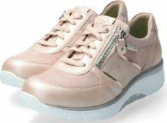 Sano by Mephisto IZAE dames rollende wandelsneaker - roze - maat 38.5
