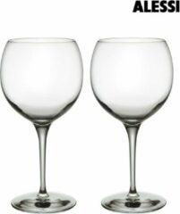 Transparante Alessi wijnglas Groot - hoogte 22 cm - 4 stuks