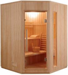 Maison Home Maison's Sauna - Stoom sauna - Finse stoom sauna - 2-4 persoons - 200x150x150cm