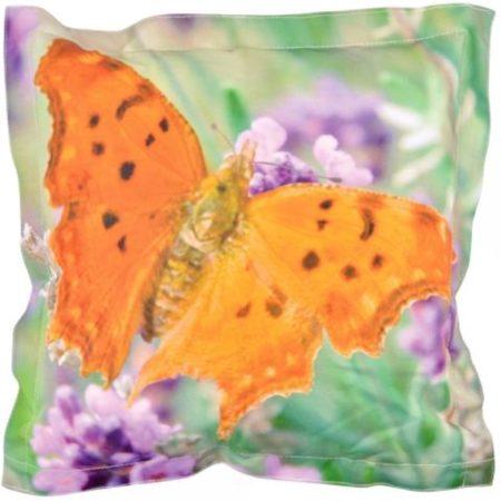 Afbeelding van Roestvrijstalen Esschert design Buitenkussen vlinder S