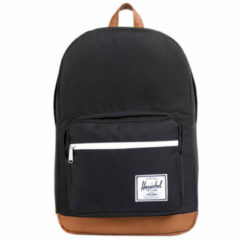Zwarte Herschel Supply Co.-Laptoptassen-Pop Quiz-Zwart