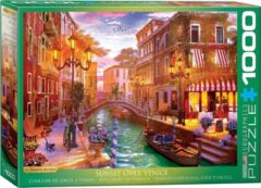 Eurographics puzzel Venetian Romance - 1000 stukjes