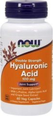 Now Foods Voedingssupplementen Hyaluronzuur, Dubbele Dosering, 100 mg (60 Vcaps) - Now Foods