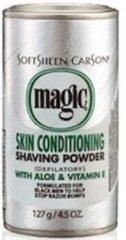 Magic / Magic Records Magic Skin Conditioning Shaving Powder met Aloe en Vitamine E - Ontharingscrème