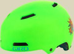 Giro Dime FS Kinder Fahrradhelm Kopfumfang XS 47-51 cm mat lime blast