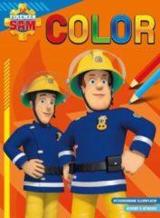 Deltas Kleurblok Brandweerman Sam Junior Oranje