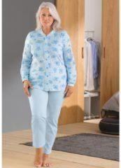 Comtessa Schlafanzug mit Druckmotiv Interlock-Jersey Comtessa helllblau