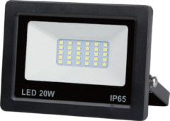 Zilveren Hofftech LED Straler / Bouwlamp SMD - 20 Watt - IP65