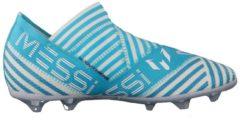 Fußballschuhe NEMEZIZ MESSI 17+ 360AGILITY mit Bandagiertechnik BY2403 adidas performance FTWWHT/LEGINK/ENEBLU