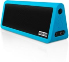 Blauwe Sweex Bluetooth Portable Stereo Speaker Rock Star Blue