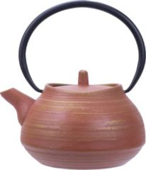 Cosy & Trendy Theepot gietijzer Mountain Terracotta 1,1 Liter