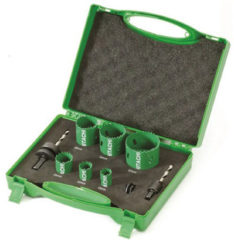 Hitachi Cassette gatzaag BI-metaal diameter 19, 22, 29, 35, 38, 44, 51, 57 en 64 mm 752173