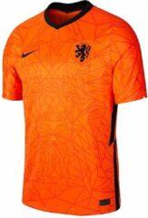 Nike nike uefa euro 2020 knvb nederland breathe stadium thuisshirt 20/22 oranje heren
