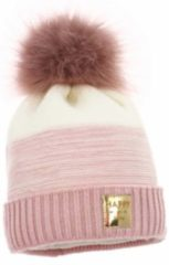 Roze IN ControL 835 NOA muts - pink/off white