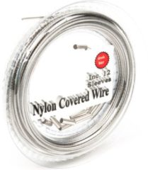 Zilveren Midnight Moon Staaldraad Nylon Gecoat 7X7 - Onderlijnmateriaal - 75lb