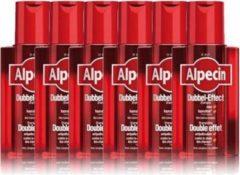 Alpecin Dubbel Effect Shampoo Voordeelverpakking 6x200ml