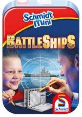 999 Games Schmidt Battle Ships spel in blik