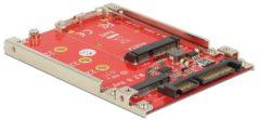 DeLOCK 2.5″ Converter SATA 22 pin > M.2 / mSATA met frame