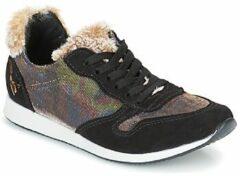Zwarte Lage Sneakers Ippon Vintage RUN SNOW
