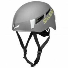 Grijze Salewa - Pura Helmet - Klimhelm maat L/XL grijs/zwart