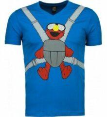 Blauwe T-shirt Korte Mouw Mascherano Baby Bear - T-shirt