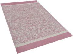 Buiten-vloerkleed gemêleerd roze 120 x 180 cm. BALLARI