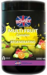 Ronney Professional Mask Multi Fruit Complex Regenerating Therapy For Damaged And Dry Hair 1000 ml