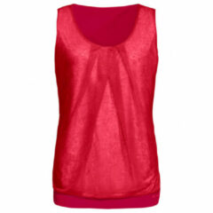 Vaude - Women's Skomer Top II - Top maat 34, rood/roze
