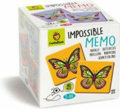 Ludattica Memory: IMPOSSIBLE MEMO 12,3x12,3x11,8cm, 20 paren te maken, 5+