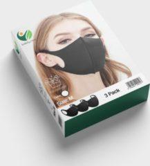 SafetyFirst Safety First Wasbaar Gezichtsmasker | Wit | 3 Pack | Voordeelverpakking