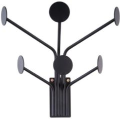 Zwarte Pt Coat hanger Wall Dots black